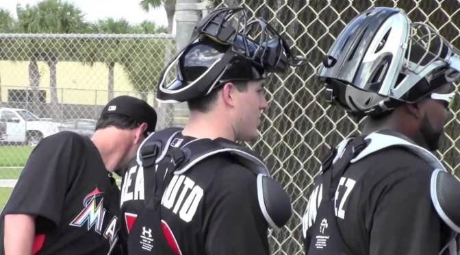 2015 Miami Marlins minor league depth: Catcher